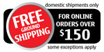 Free ground shipping on orders over $150