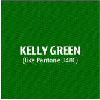 Kelly Green 100% polyester fire resistant fabric for trade show table cloths