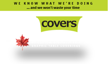 Canada's Leading Manufacturer of Custom Printed Table Coverings