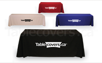 See one colour heat transfer vinyl custom printed economy table cloths